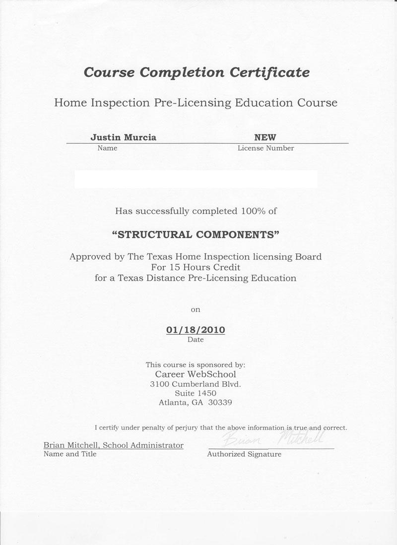 certificate of completion roofing - Ataum berglauf-verband com